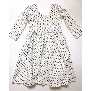 NWOT Alice + Ames Ivory Dot Dress